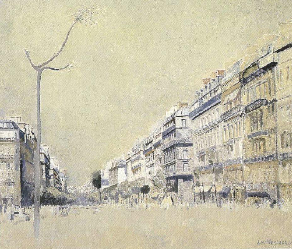 Lev Meshberg. Paris. Boulevard Saint Germain. 1976