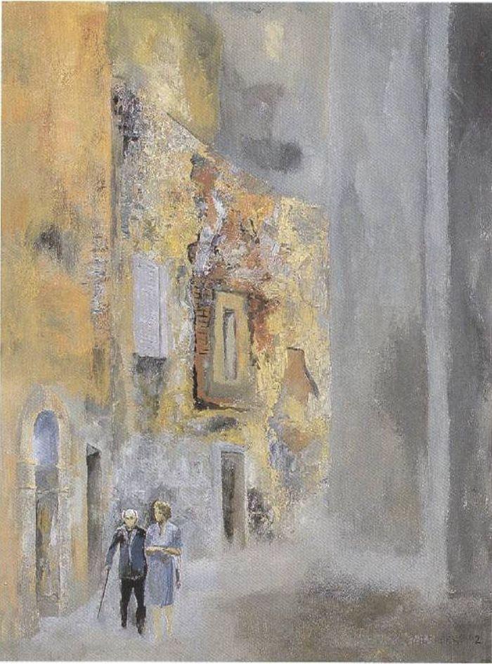 Lev Meshberg. A walk in Camerino