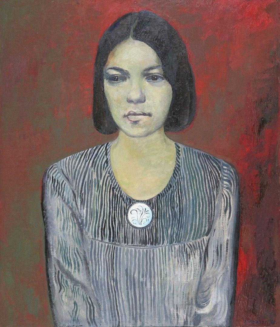 Lev Meshberg. Wife portrait