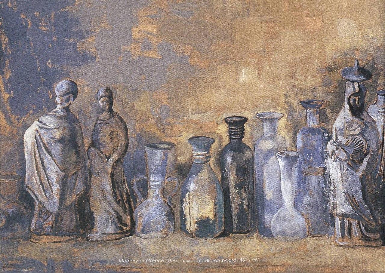 Memory of Greece. 1991. Lev Meshberg