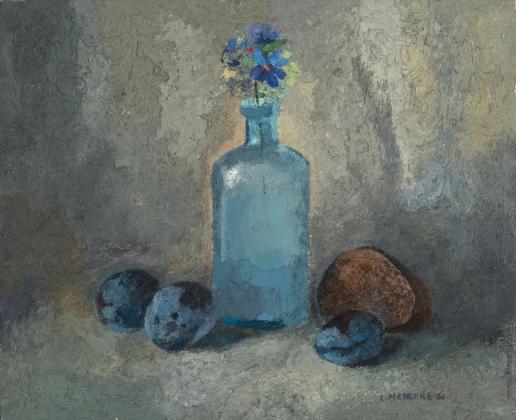 by Lev Meshberg. Голубые сливы. 1988
