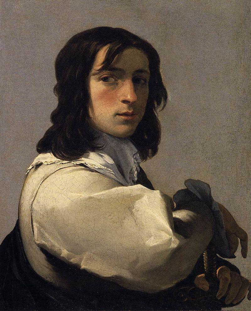 Portrait of a Young Man. 1640. Eustache Lesueur (1616 - 1655)