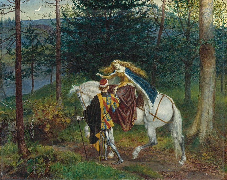 Walter T. Crane - La belle Dame Sans Merci (1865)