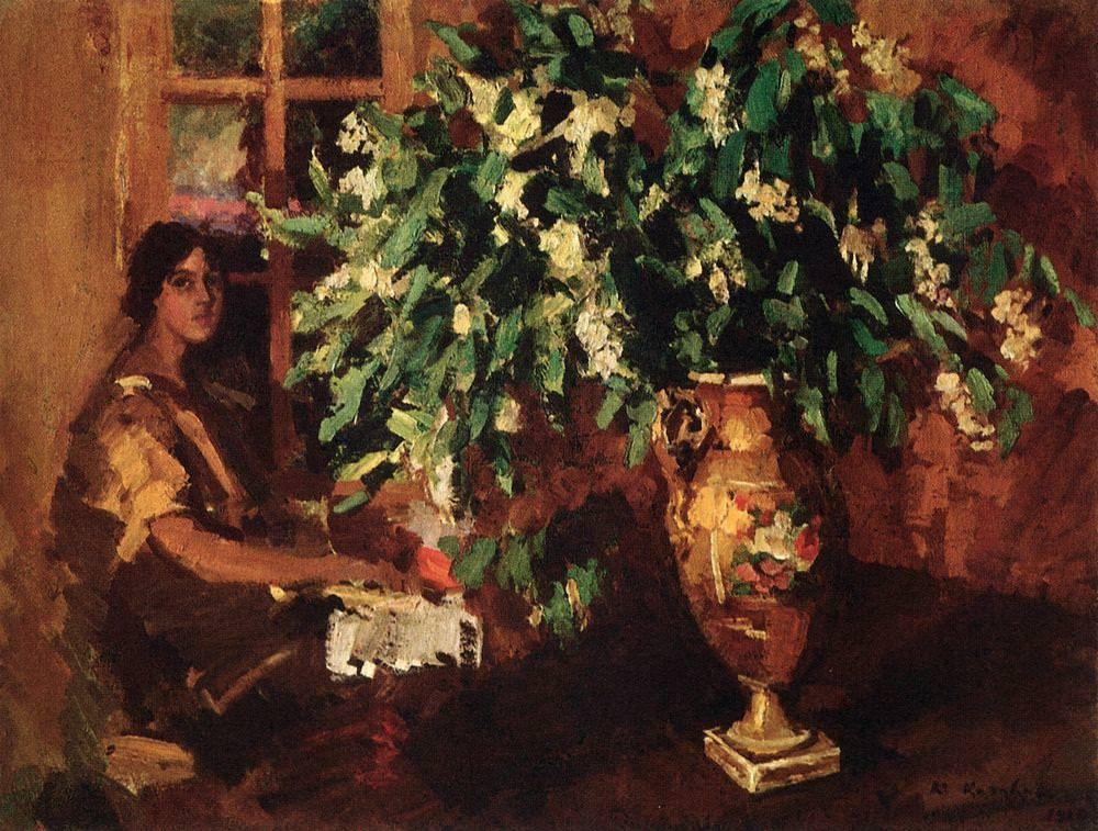 Коровин Константин Алексеевич – Черемуха. 1912