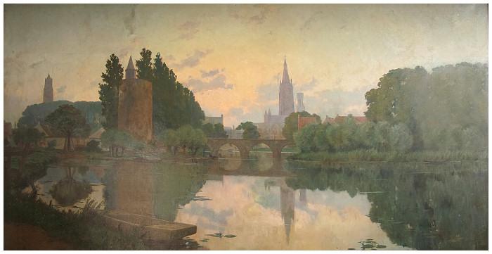 Le lac d´Amour à Bruges (1898)