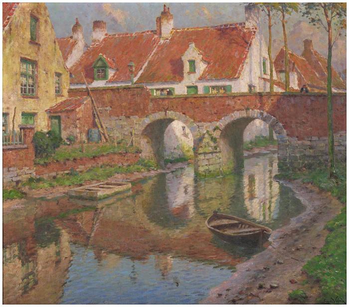 Moulin à eau à Heule (1903)