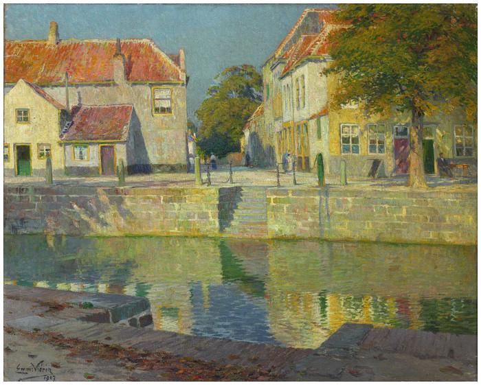 Le quai à l´Ecluse (1907)