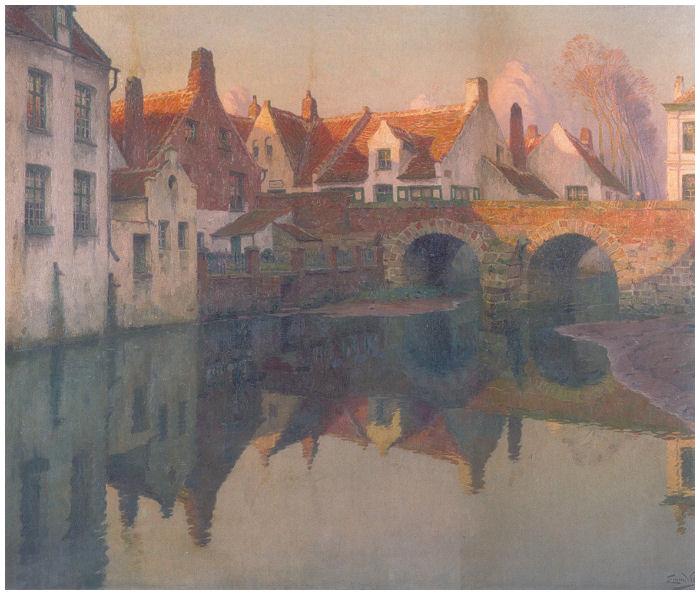 Le moulin à eau de Heule - 1910