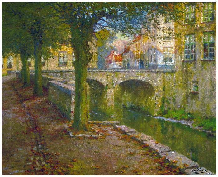 Pont et quai à Dixmude (1912)