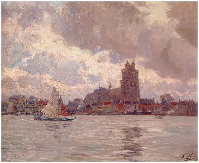 View of Dordrecht, c.1914.