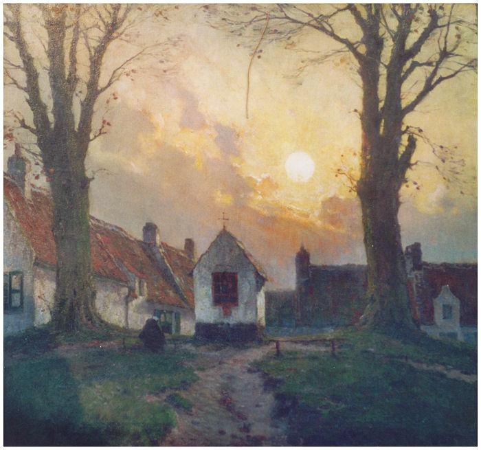 Chapelle à Ghistelles (ca. 1930)