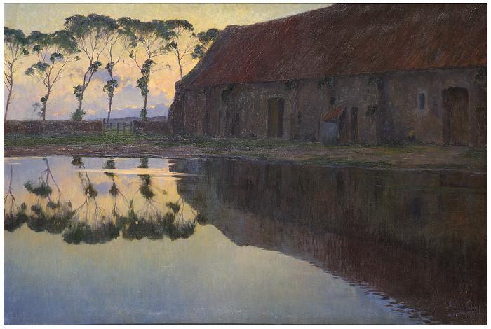 La vieille grange - 1900