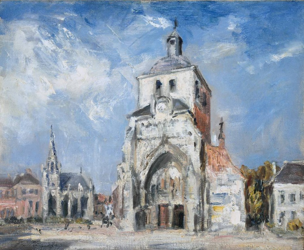 The Church at Montreuil. Philip Wilson Steer. 1907