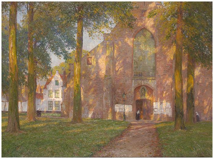 Au béguinage - 1911
