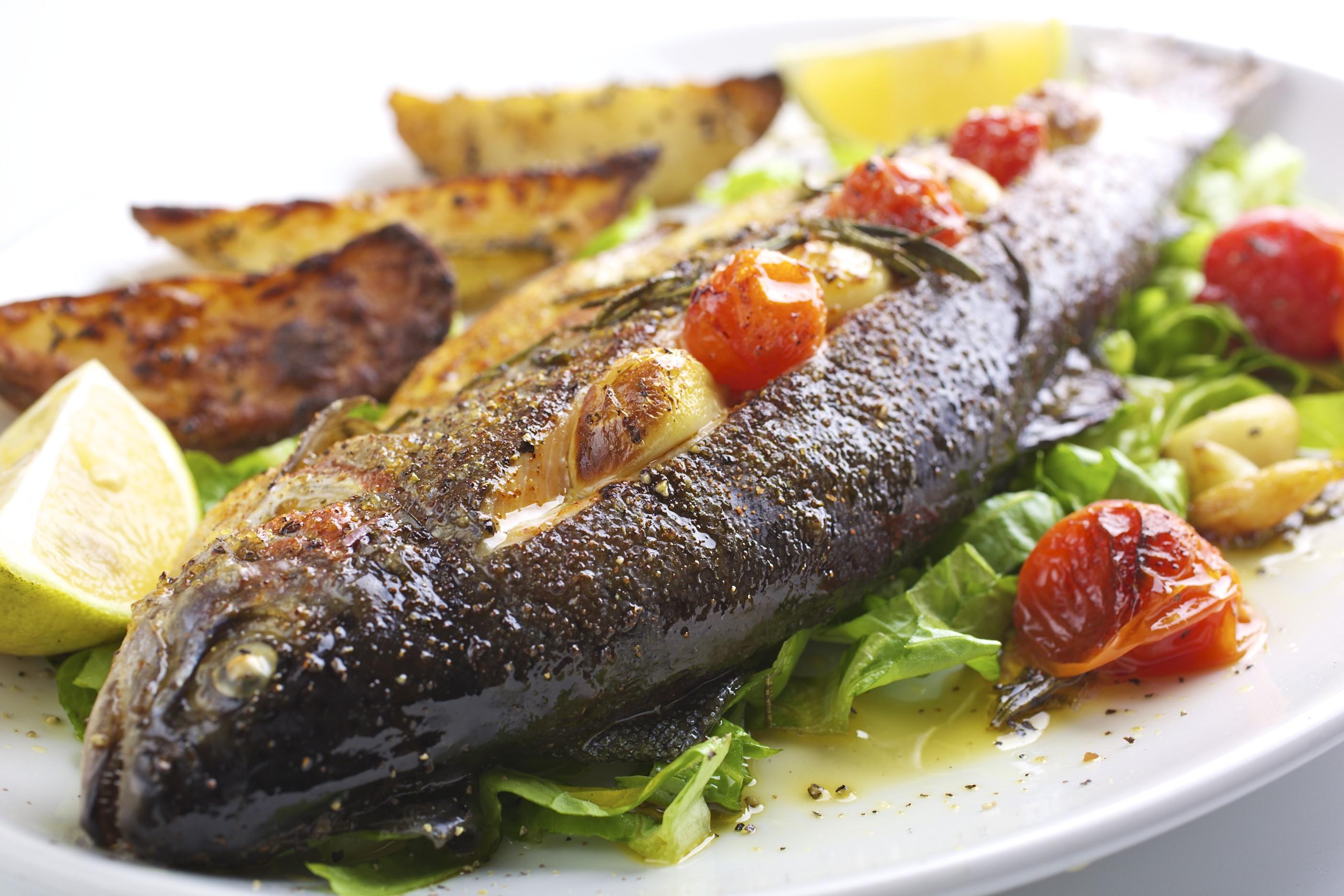 Ресторанные блюда из рыбы