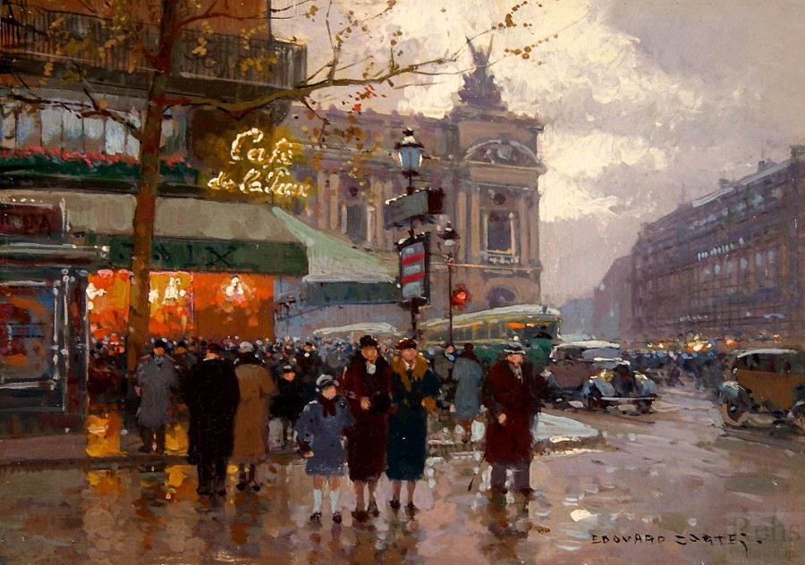 edouard_leon_cortes_b1288_lopera_and_the_cafe_de_la_paix_wm