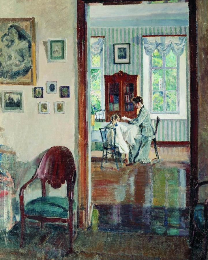 В доме. 1910