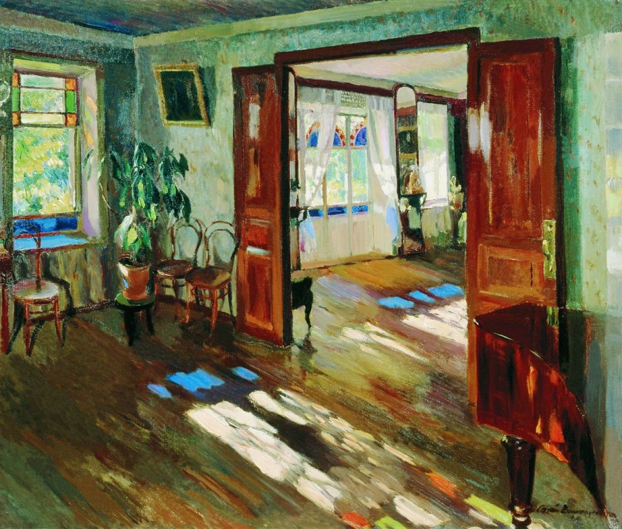 В доме. 1914