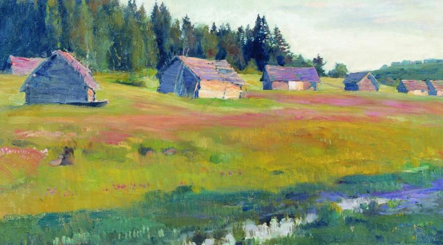 Вечер (Сараи). 1900