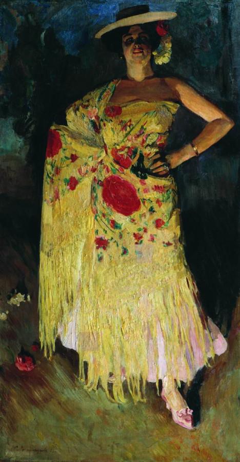 Испанская танцовщица (Отэро). 1903