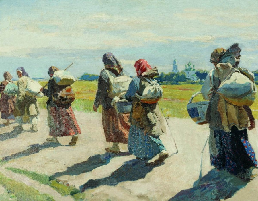 К преподобному. 1910