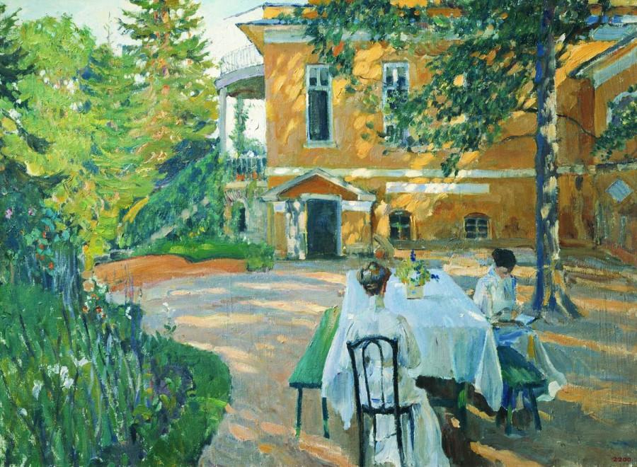 Летом. 1908