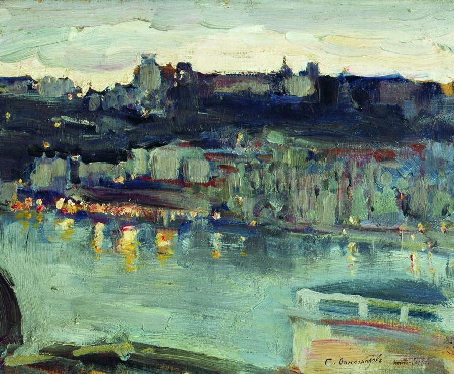 Монте-Карло. Этюд. 1909