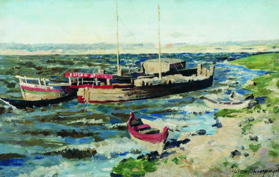 На Волге. 1889