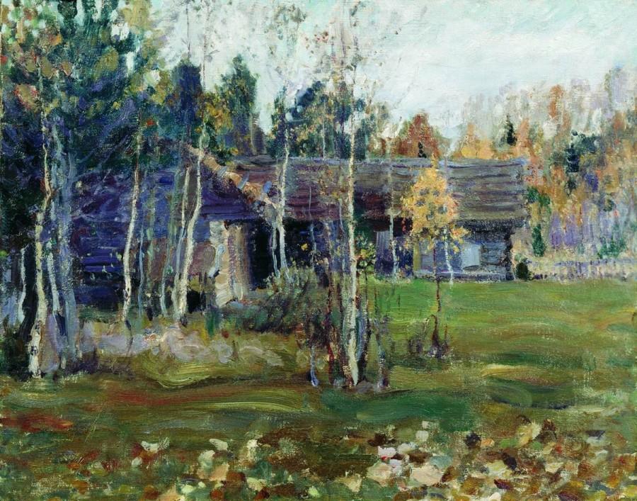 Овины. 1919