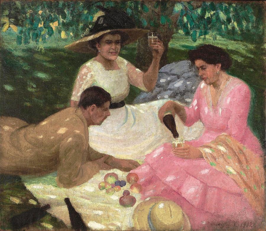 Пикник. 1912