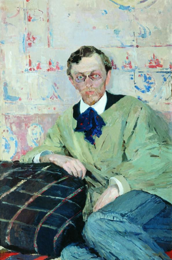 Портрет художника К.К.Первухина. 1893