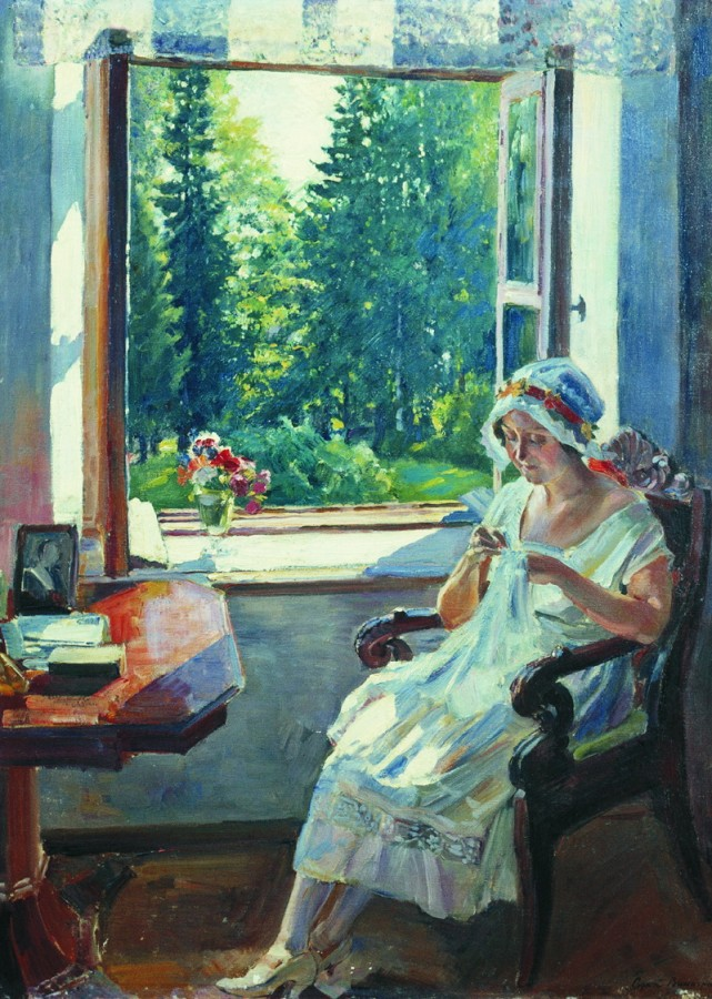 Утро (И.К.Войцеховская). 1925
