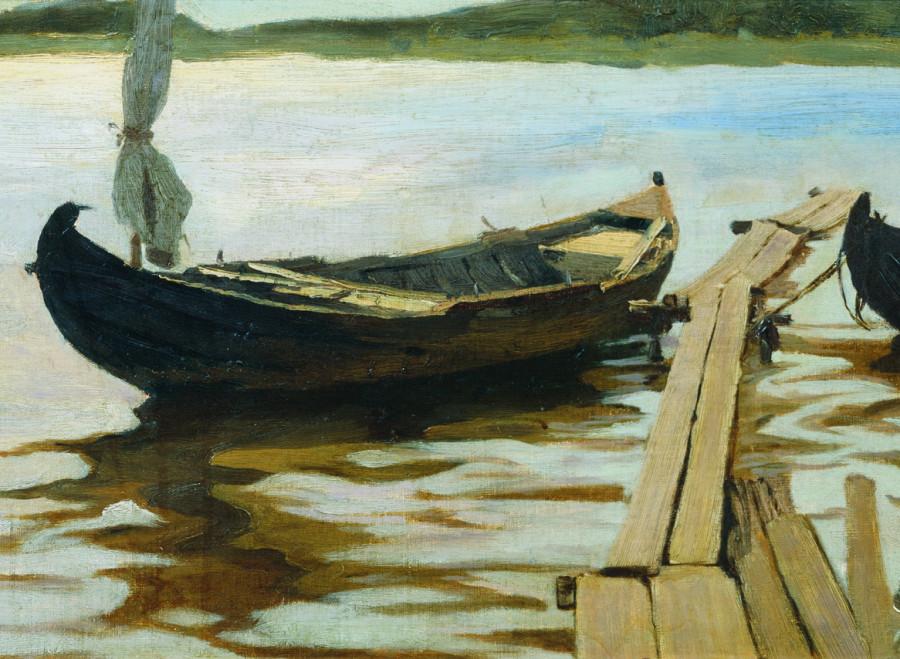 Этюд с лодкой