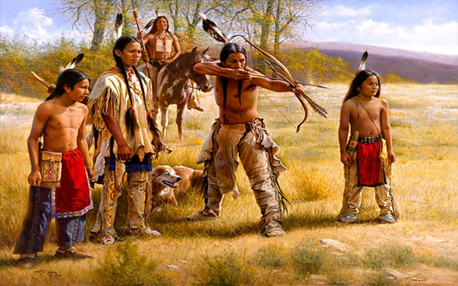a history of the apache and the cherokee indians