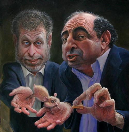 Олигархи и крысеныш