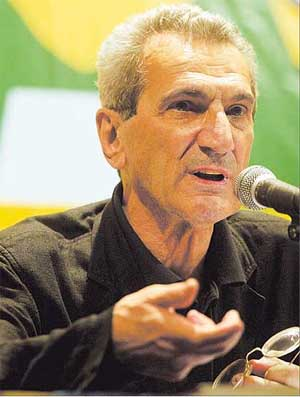 Antonio negri black shirt