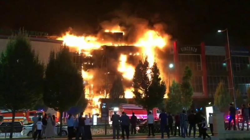 Конечно, власти Чечни никогда не признают пожар, произошедший 19 сентября в центре столицы ЧР терактом, чтобы сохранить свое доброе имя (но, доброе ли оно?)
