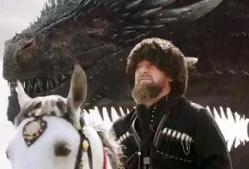 В Священном Писаний дракон - это образ самого дьявола, который стоит за Кадыровым-Аввадоном, его ключевым военначальником мирового уровня