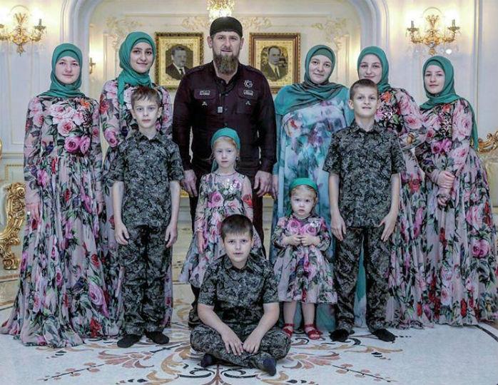 У Кадырова 12 детей: кем они вырастут и станут, учитывая то, чем на самом деле занимается Кадыров?