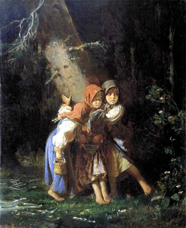 Порно картинки девочка в лесу 1 фотография