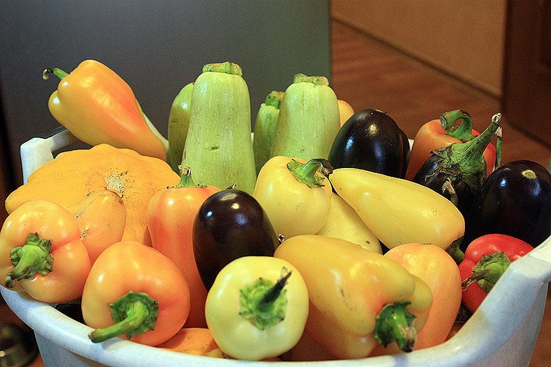 Овощи осенние