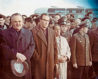 Королёв, Гагарин, Косберг