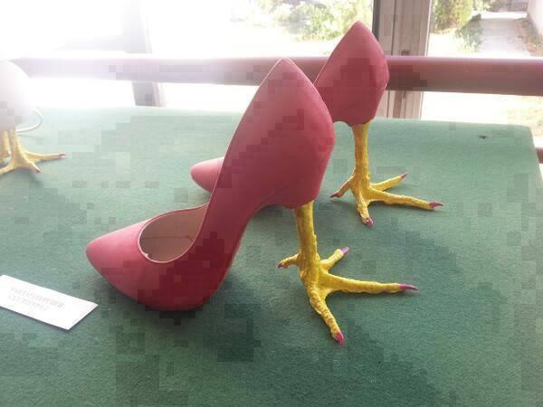 туфли на курьих ножках