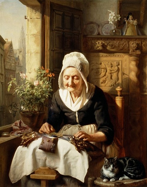 The_Old_Lacemaker