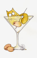 Martini cat