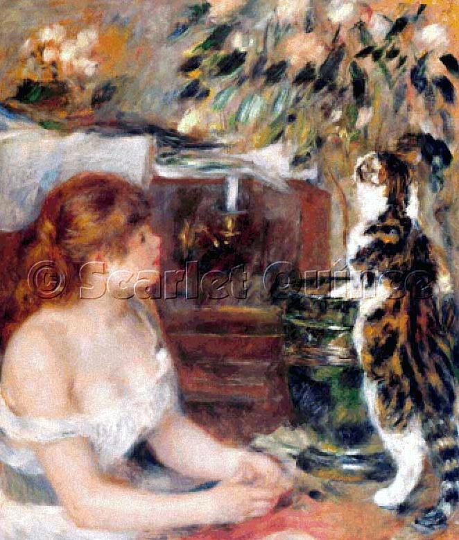 Картина проститутка с кошкой проститутка кристис спб