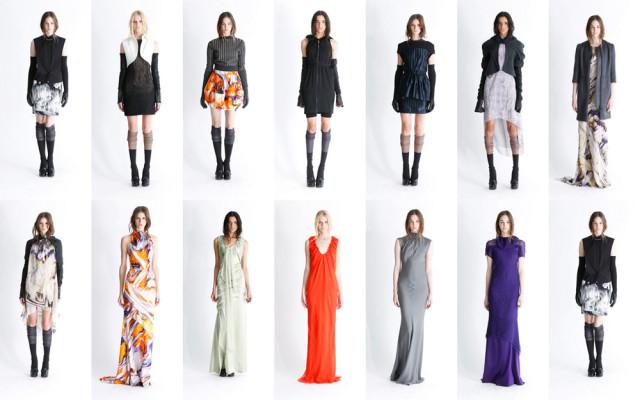 В платьях в пол все также неординарно, как и всегда.