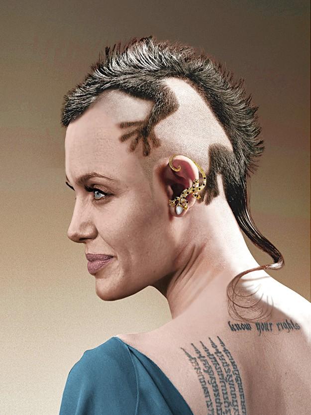 оселедець зачіска фото