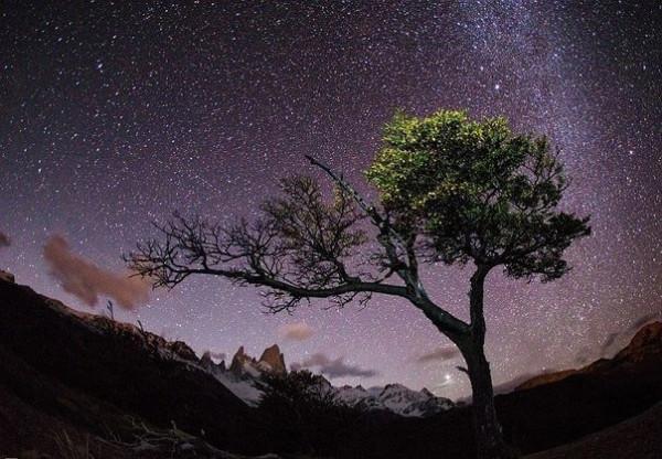 Ночное небо Патагонии