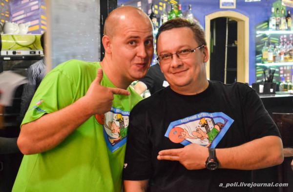 Паша upsya и Илья ilyavaliev